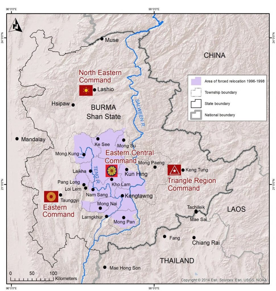 Displaced Shan villagers along Shan-Thai border in limbo ... on mon state myanmar map, kachin state map, chin state myanmar map, shan state army south, military bases washington state map, kayin state myanmar map, glen falls new york state map, idaho state map, lashio on map, northern new mexico map, shan state in thailand, rakhine state myanmar map, gongga shan china map, shan state 1942, shan state dress, altun shan map,
