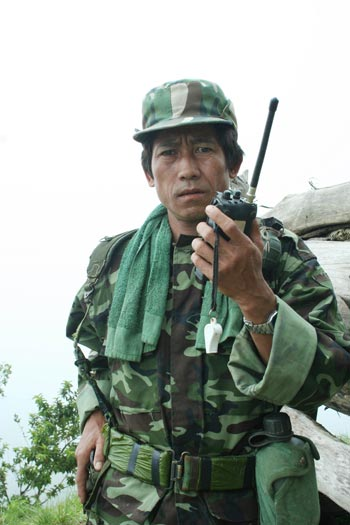 Forty-five year old, Lt. So Reh, has served in the Karenni Army for more than 20 years. Photo: Kantarawaddy Times.