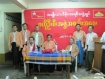 Burma's main opposition political party  the National League for Democracy has decided not to re-register with  the Election Commission for the 2010 general elections, following hectic  parleys by the party brass at a meeting  yesterday.