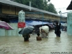 These photos were taken by Narinjara Staff on 15 June 2010 during the downpour in Buthidaung. All urban areas of Buthidaung including hospitals, markets, ration stores, and many government buildings have been hit by flooding that reached up to seven feet. (photo-Narinjara)
