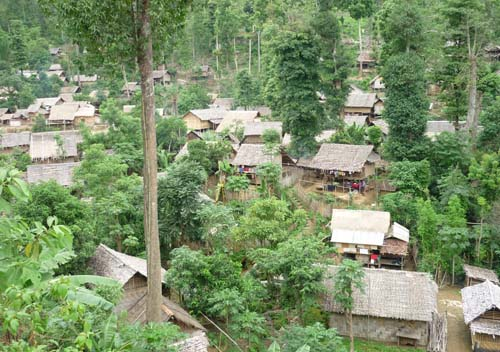 Karenni Refugee Camp, near Mae Hong Song, northern Thailand
