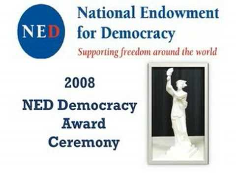 NED-Democracy-award-ceremony