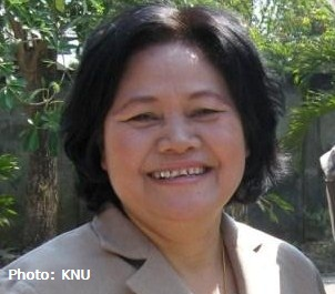 Zipporah Sein, General Secretary, Karen National Union (KNU)