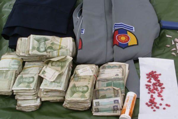 kia-seized-methamphetamine-in-burmese-police-checkpoint