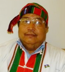 Zo Zam aka Zo Cin Pao, Chairman, Chin National Party (CNF)