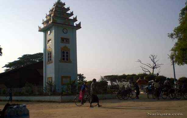 Buthedaung-watch-tower, Arakan state.