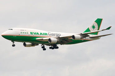 EVA Air Cargo Boeing 747-400F  Photo: Wikipedia