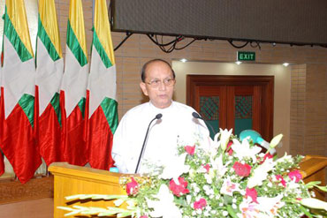 Burmese President Thein Sein. Photo: President's office
