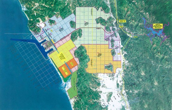 Dawei Deep Seaport and Industrial Estate. Photo: PTE