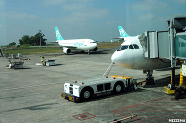 Rangoon International Airport Photo: Mizzima