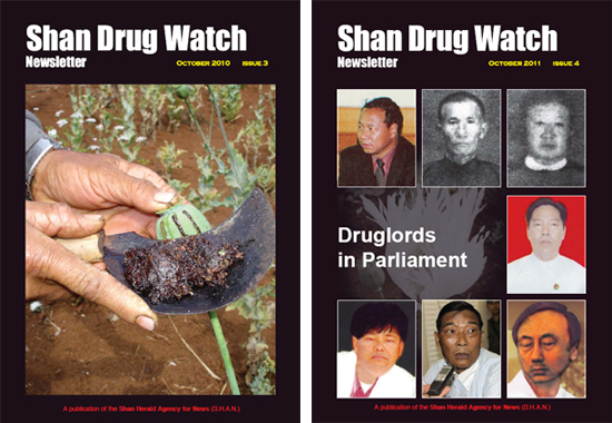 Shan Drug Watch issue 3 and 4