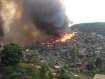 Fire at Umpiem Mai Refugee Camp destroys 1000 houses on 23 Feb. 2012. Photo: KIC