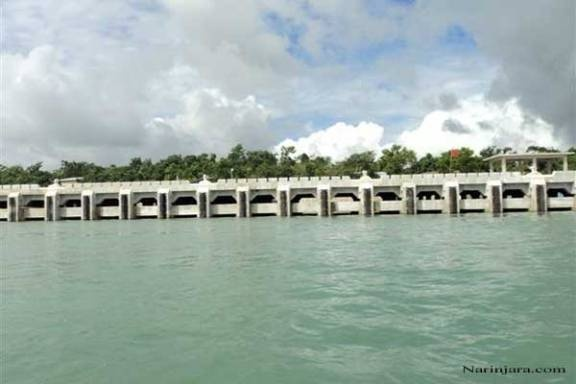 Jetty in Madae Island constructed by Chinese company.