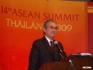 Malaysian Prime Minister Abdullah Ahmad Badawi speaking at the 14th Association of Southeast Asian Nations (ASEAN) Summit being held at Thailand's beach resort of Hua Hin. Photo – Mizzima. The 10-member ASEAN on Sunday wrapped-up its three-day annual meeting agreeing to further strengthen cooperation between nations.