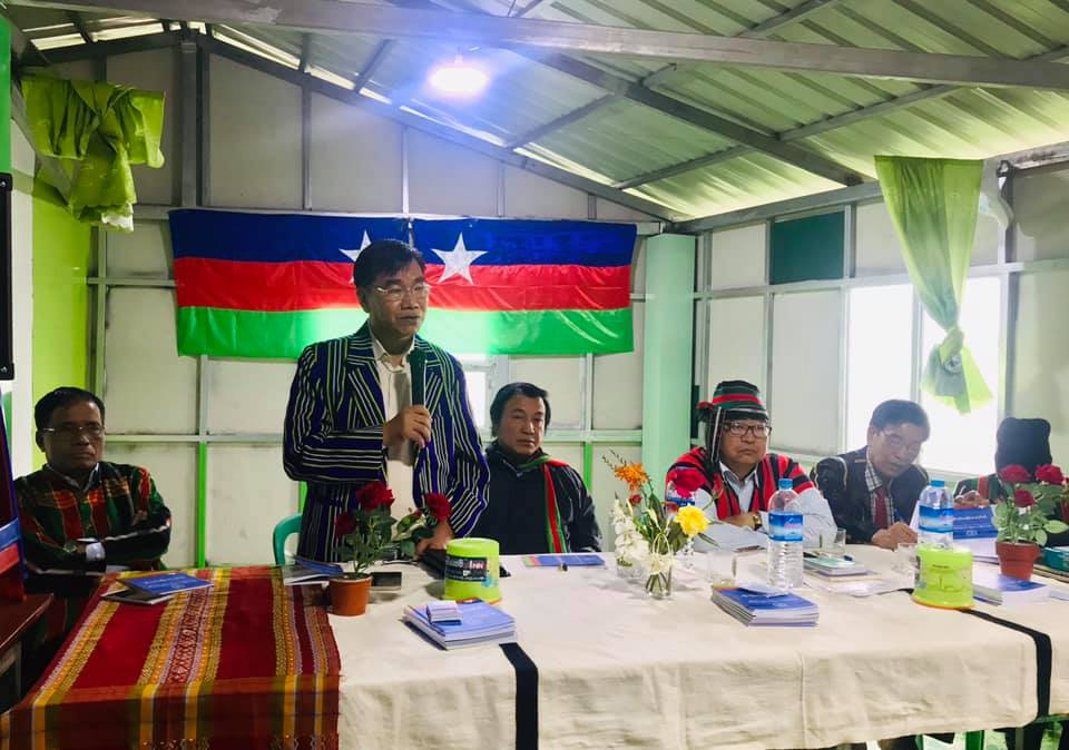 The interview of U Ngai Sak , A Chairperson of CNLD | Burma News  International