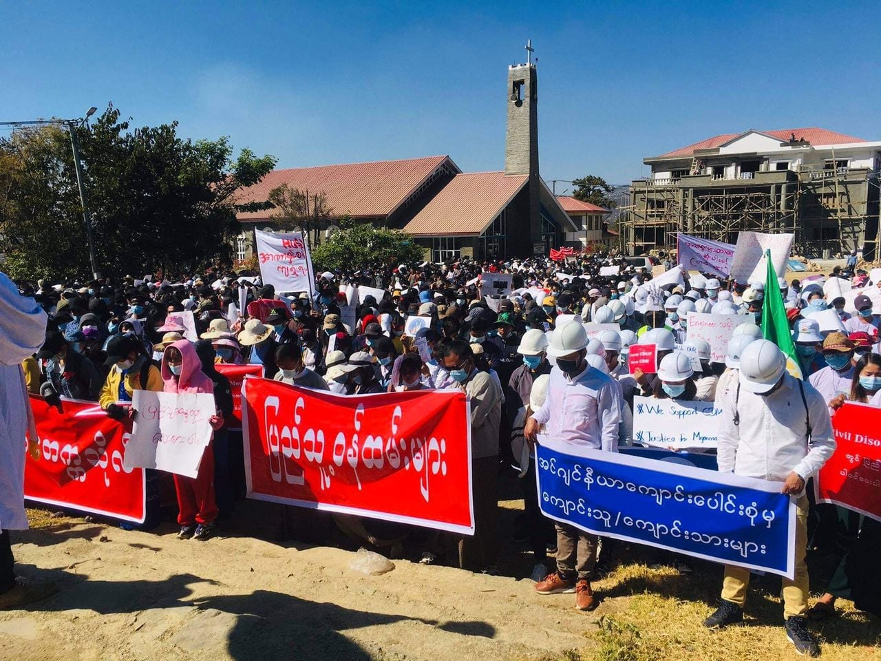 Protests Against Military Govt Erupt Across Chin State | Burma News International