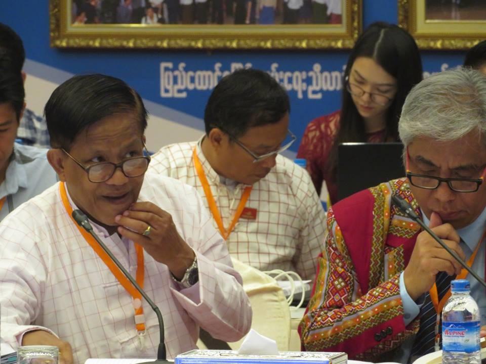 Nai Hong Sar criticizes gov't of avoiding equality, self-determination  issues | Burma News International