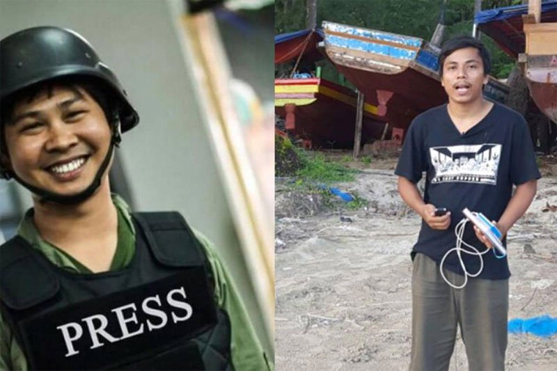US Officials Concerned About 2 Reporters Detained in Myanmar
