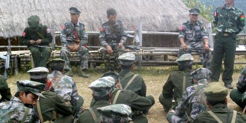 KIA Launches another Attack on Burma Army Forces in Shan State | Burma News International