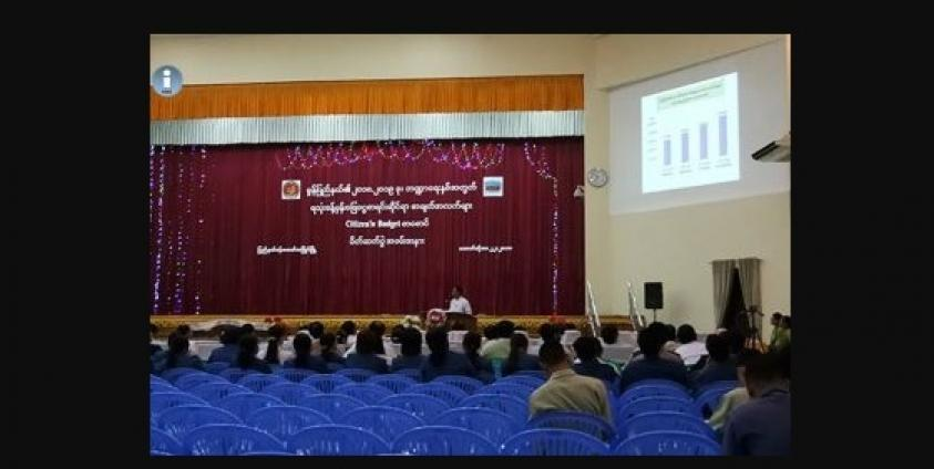mon state govt reveals budget plan burma news international