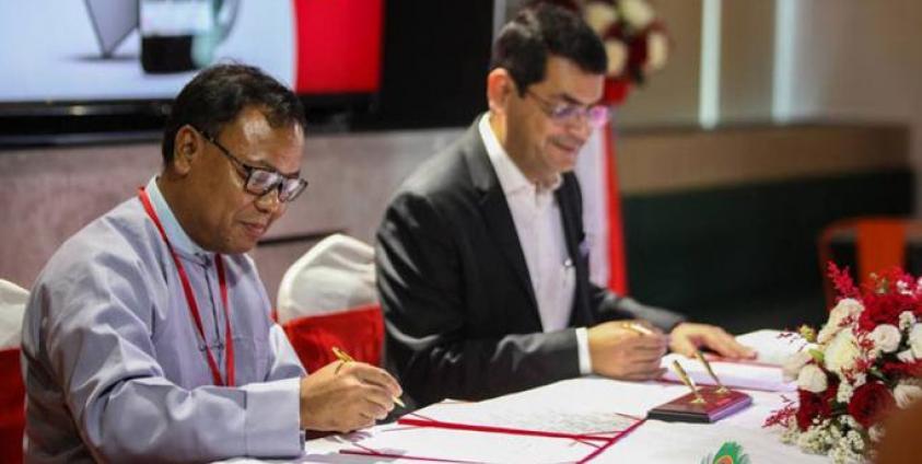 Ooredoo Myanmar and Mizzima TV sign MoU to provide Digital